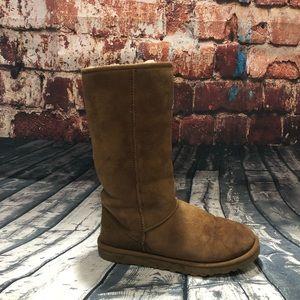 UGG tall chestnut boots